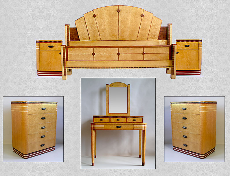 Http Www Jlfurniture Com Art Deco Art Deco Bedroom Set Art Deco Bedroom Set1 Html