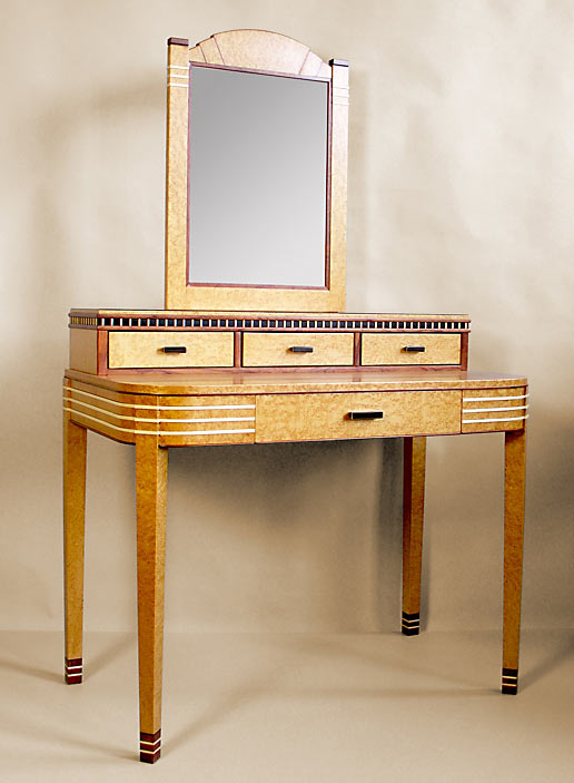 Art deco vanity - Deco dressing ...