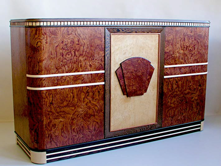 Art Deco Office Credenza