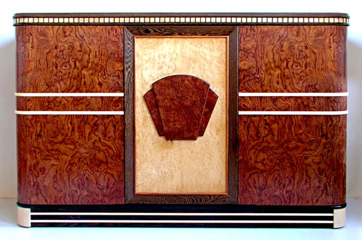 Art Deco office sideboard