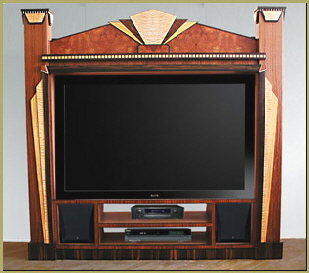 deco entertainment center