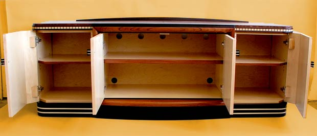 art deco audio cabinet storage art deco reproduction furniture