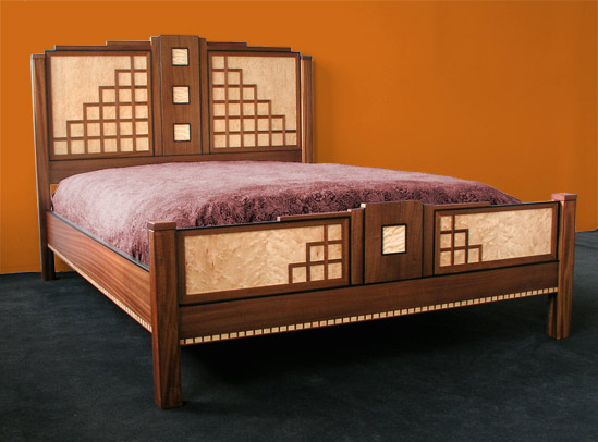 Art Deco Bedroom Furniture Sets Orange Art Deco Paint Bedroom