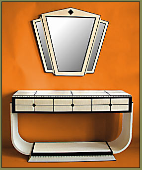 Art Deco Buffet, sideboard, console