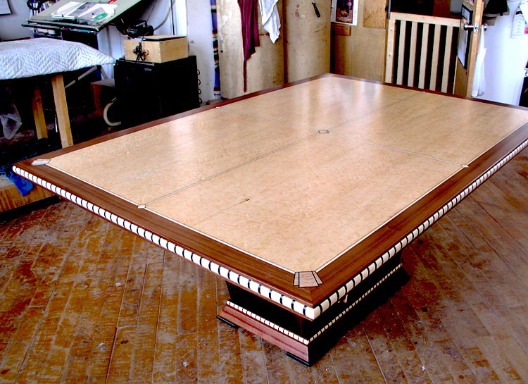 Inlay Art Deco Dining Table