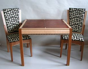 game table and chairs