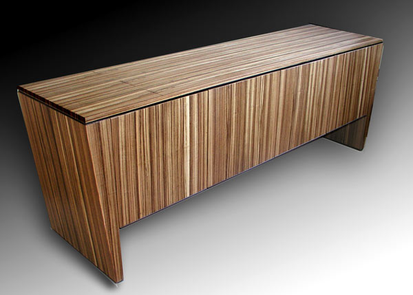 zebrawood console zebrawood entertainment center