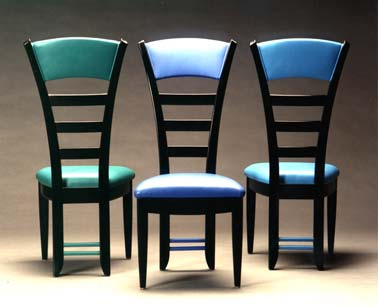 custom leather dining chairs contemporary