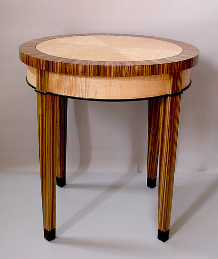 Zebra Wood Table