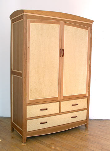large wardrobe cherry