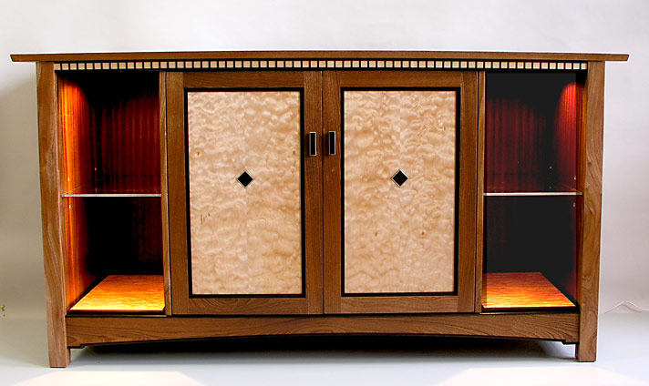 Stickley Stereo Audio Cabinet