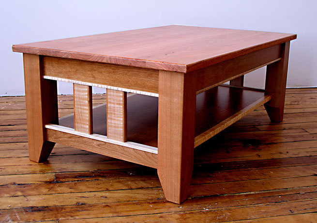 stickley tv table