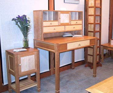 cherry desk set