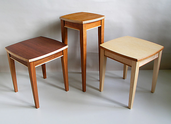 simle elegant side tables