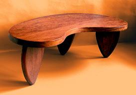 Kidney Shape Table