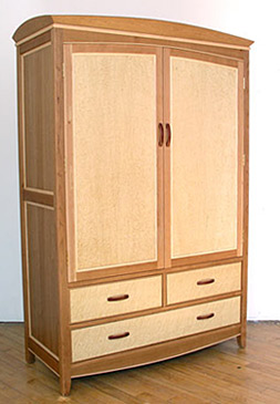 Wardrobe with many drawers