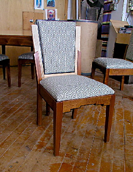 Art Deco Kitchen Chair