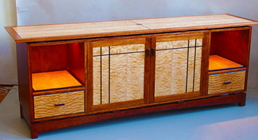 Stereo Display Cabinet
