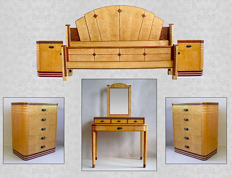 Deco Bedroom Set