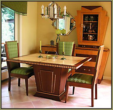 Custom Art Deco Furniture