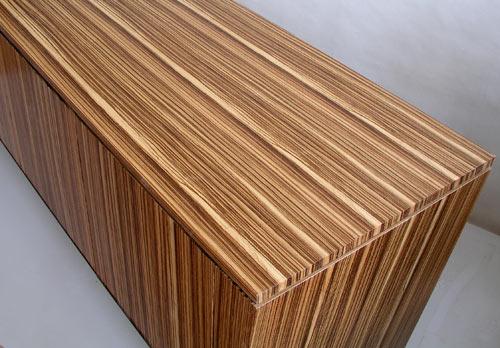 Zebrawood Cabinet